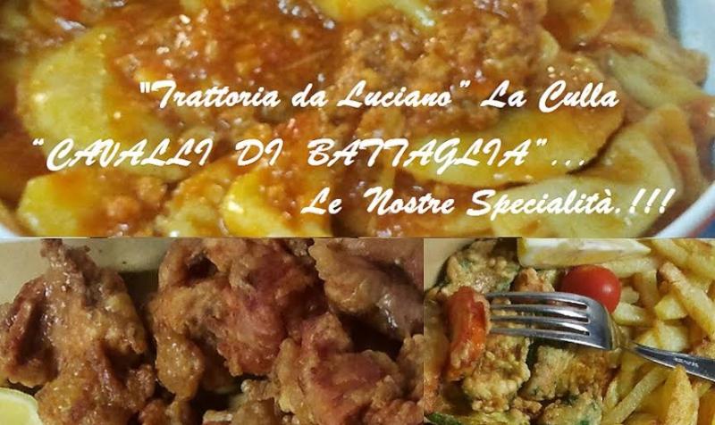 Menù degustazione da Ristorante Trattoria Da Luciano a La Culla, Camaiore